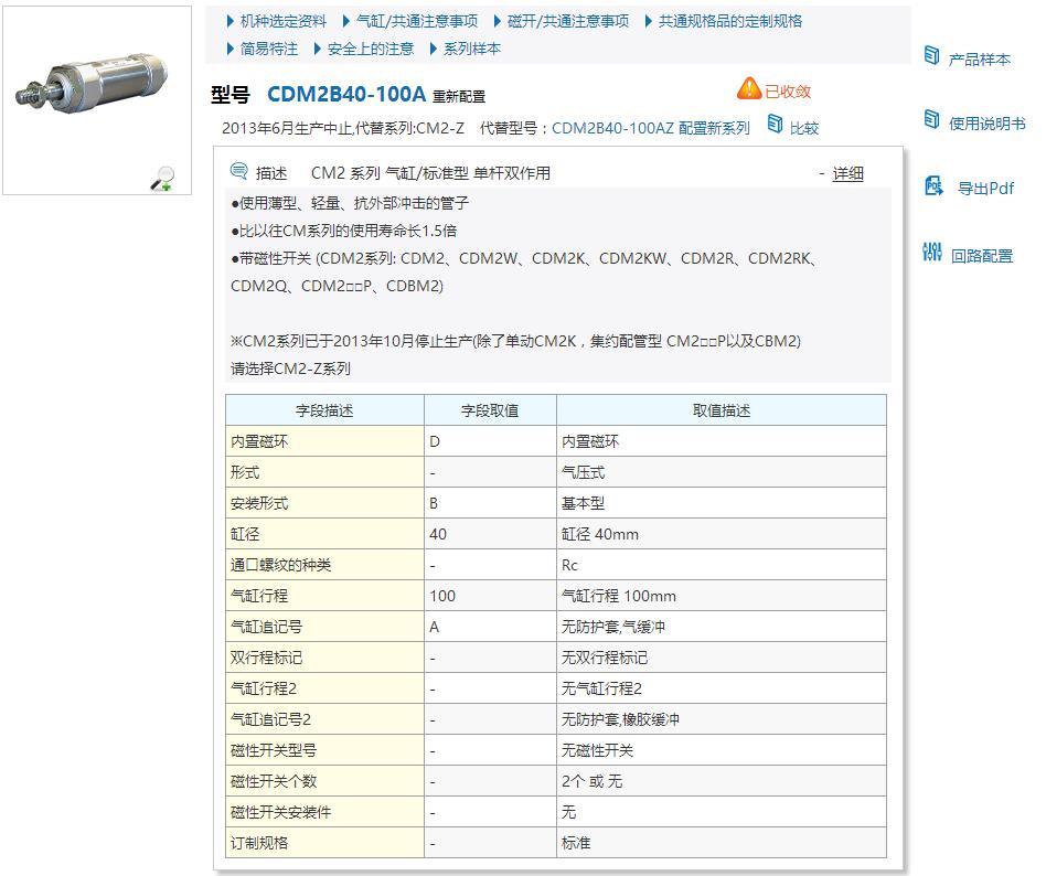 CDM2B40-100Z快速報價現貨