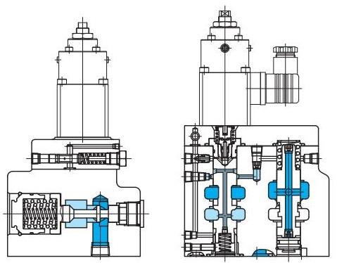 东京计器EPF(R)G比例电磁流量调节阀