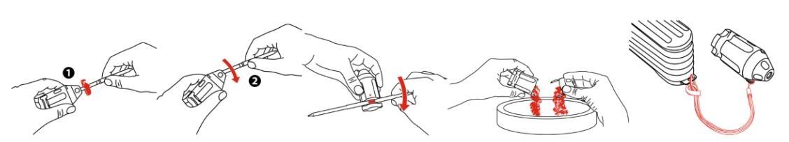 德尔格检测管开罐器使用方法