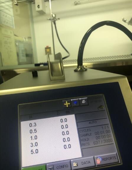 生物安全柜粒子验证