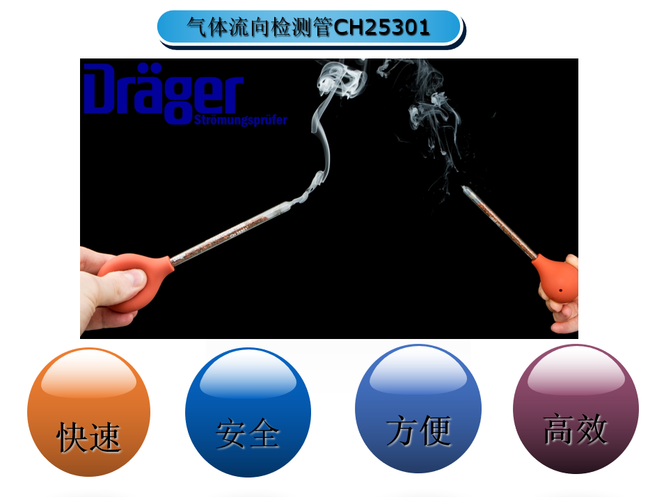 德尔格发烟管CH25301