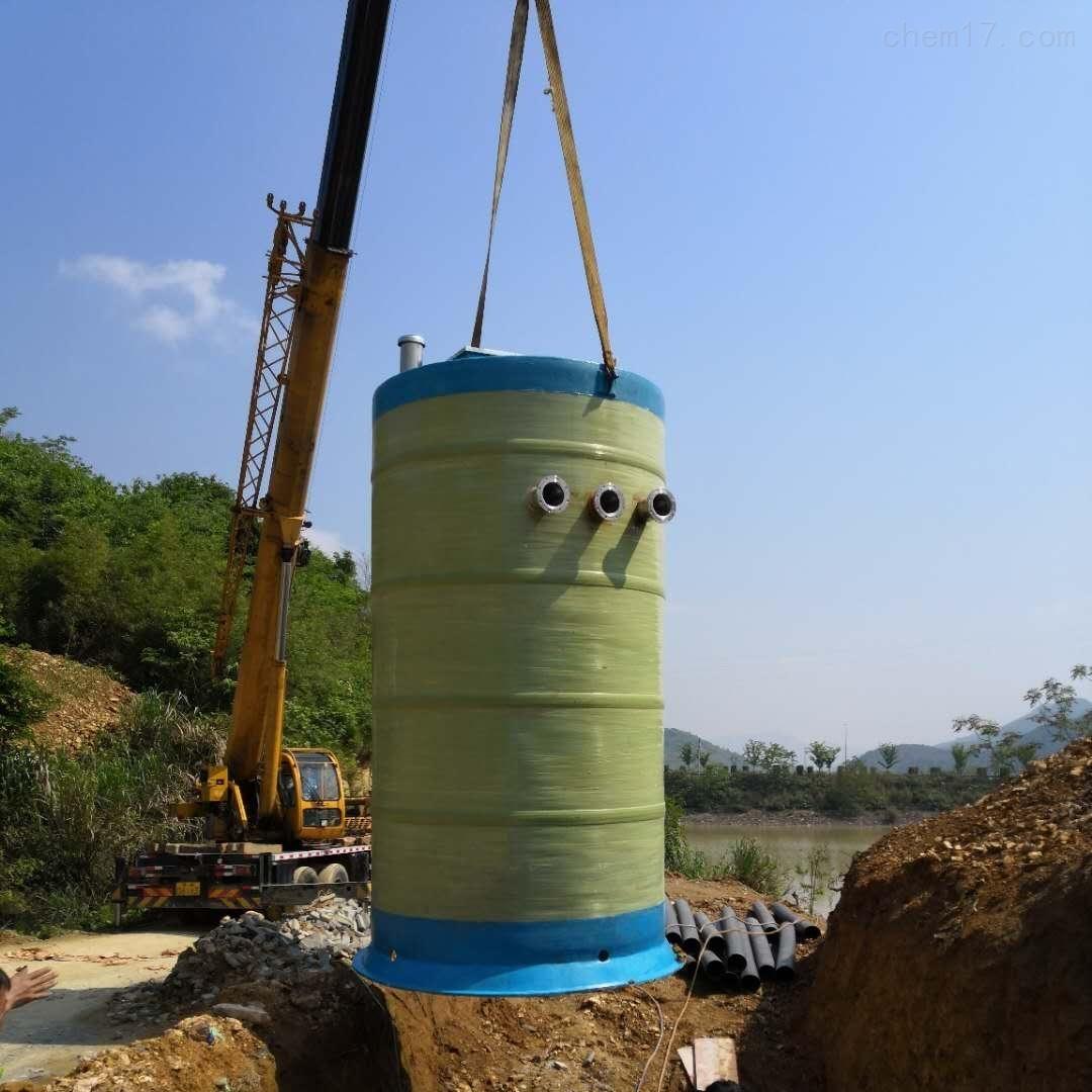污水预制泵站