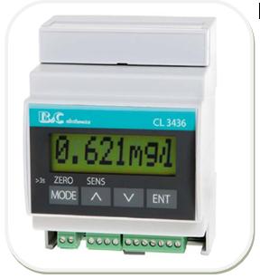 在线余氯监控仪CL3436