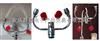 HY1201實驗室兩用洗眼器 出水量: 12升/分鐘;樣式:嵌入式