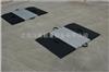 四块板轴重汽车衡 安徽40t高精度传感器便捷携轴重称