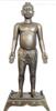 经络人体铜像