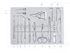 SYX15青光眼显微手术器械包 青光眼手术器械 眼科显微器械