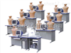 KAH3000A/G 学生机多媒体心肺听诊触诊技能训练实验室