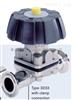 3233型Burkert宝德原装德国进口A级代理3233型两位两通锻造阀体手动膜片阀